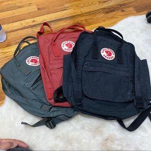 FJALLRAVEN KANKEN classic backpacks 3 colors